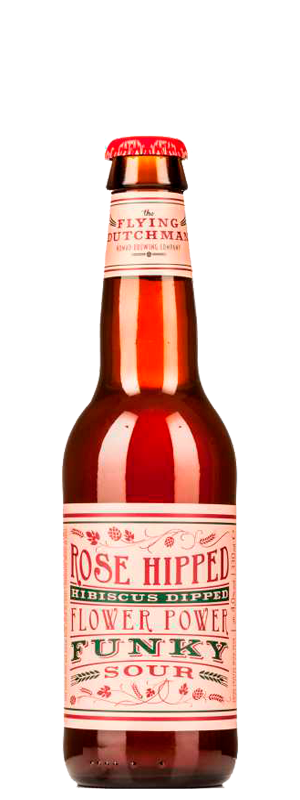 картинка Flying Dutchman Rose Hipped Hibiscus Dipped Flower Power Funky Sour 0,33 л., алк 4,0% от магазина Leolsbeer.ru Пиво Хорошего Вкуса