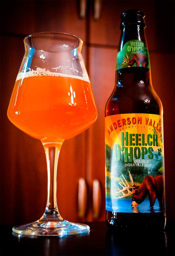 картинка AVBC Heelch O'Hops Double India Pale Ale (Imperial IPA) 0.355 л., алк 8,7% от магазина Leolsbeer.ru Пиво Хорошего Вкуса