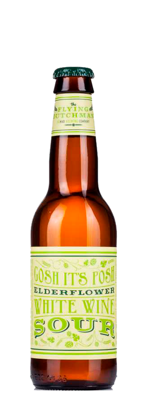 картинка Flying Dutchman Gosh It's Posh Elderflower White Wine Sour 0,33 л., алк 5,6% от магазина Leolsbeer.ru Пиво Хорошего Вкуса
